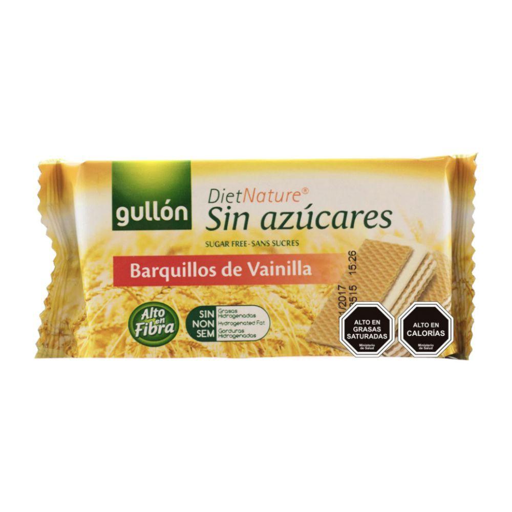 Galletas sin Azúcar Sabor Vainilla Bolsa 70 g