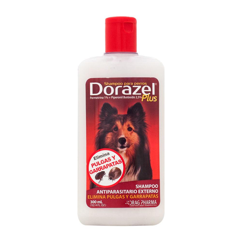 Shampoo antiparasitario externo para perros