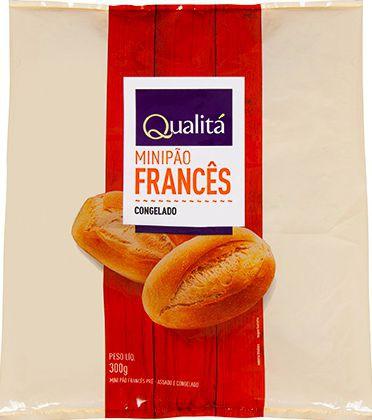 Mini pão francês congelado