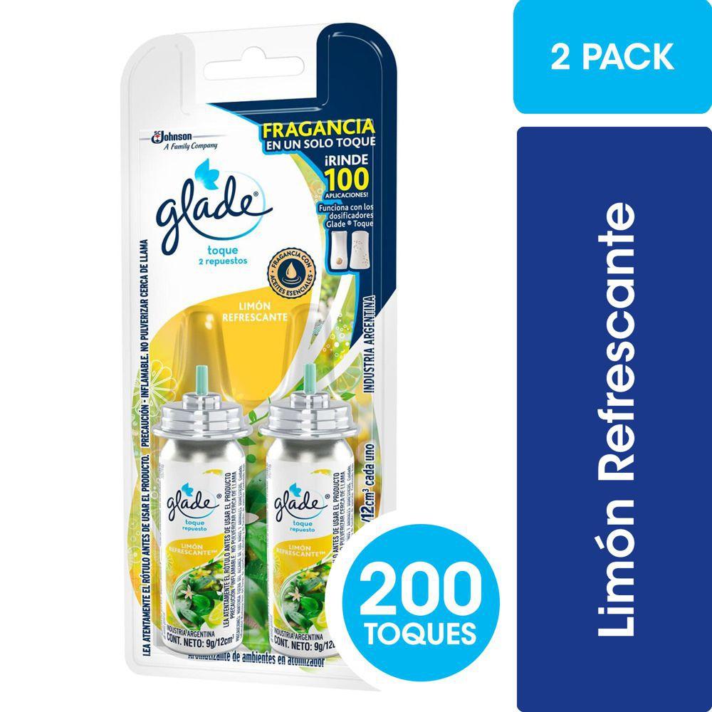 Pack Toque de Repuesto Ambiental Limón Refrescante Display