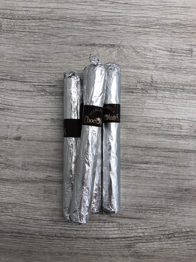 Dark chocolate cigar