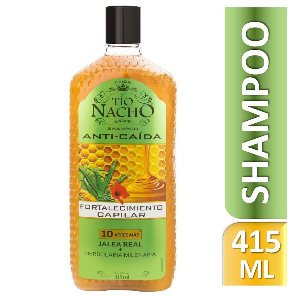 Shampoo anticaída herbolaria milenaria