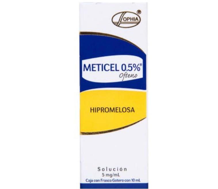 Gotas Meticel ofteno hipromelosa