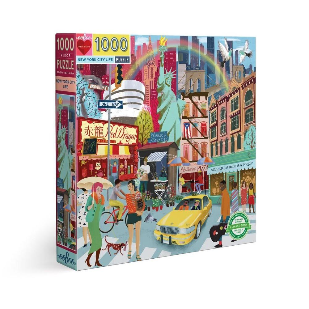 Puzzle vida en nueva york- 1000 piezas