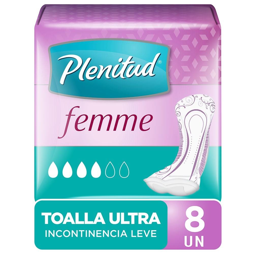 Toalla ultra para incontinencia leve
