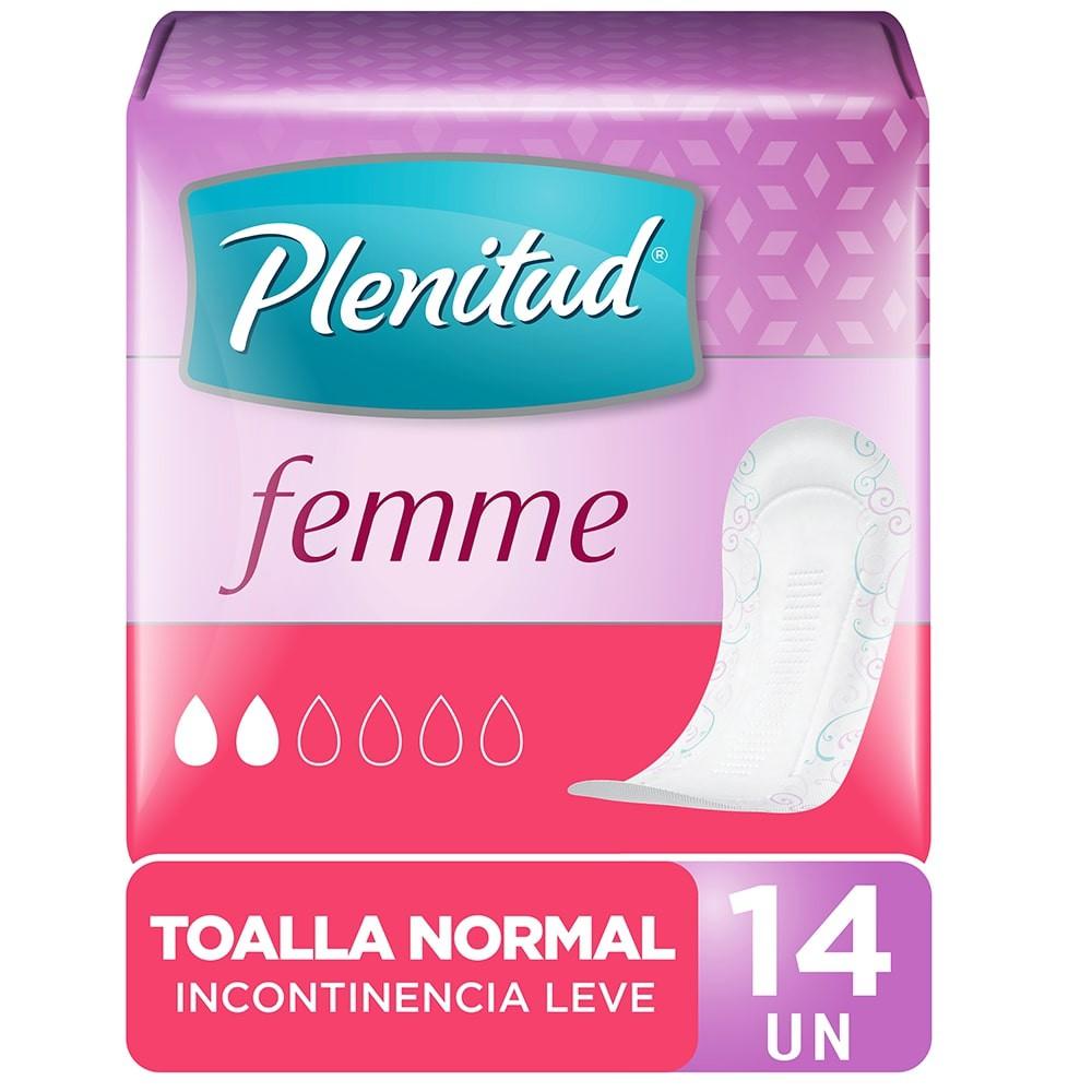 Toalla normal para incontinencia leve