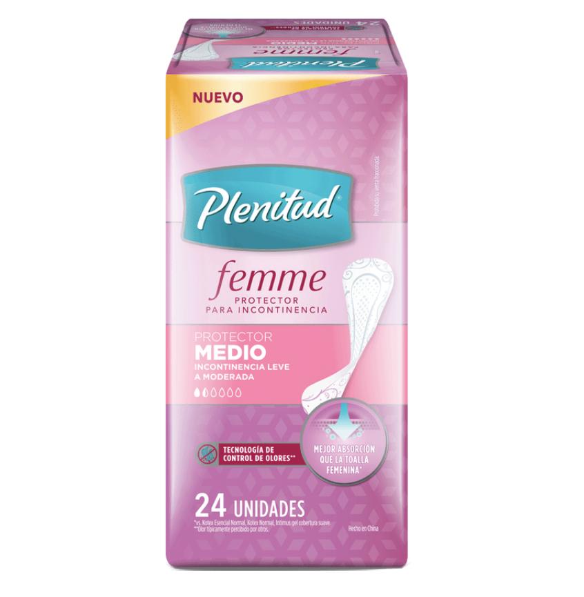 Protector medio para incontinencia leve