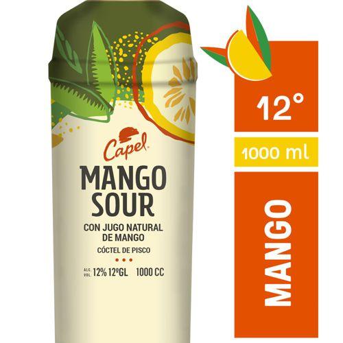 Mango sour con jugo natural