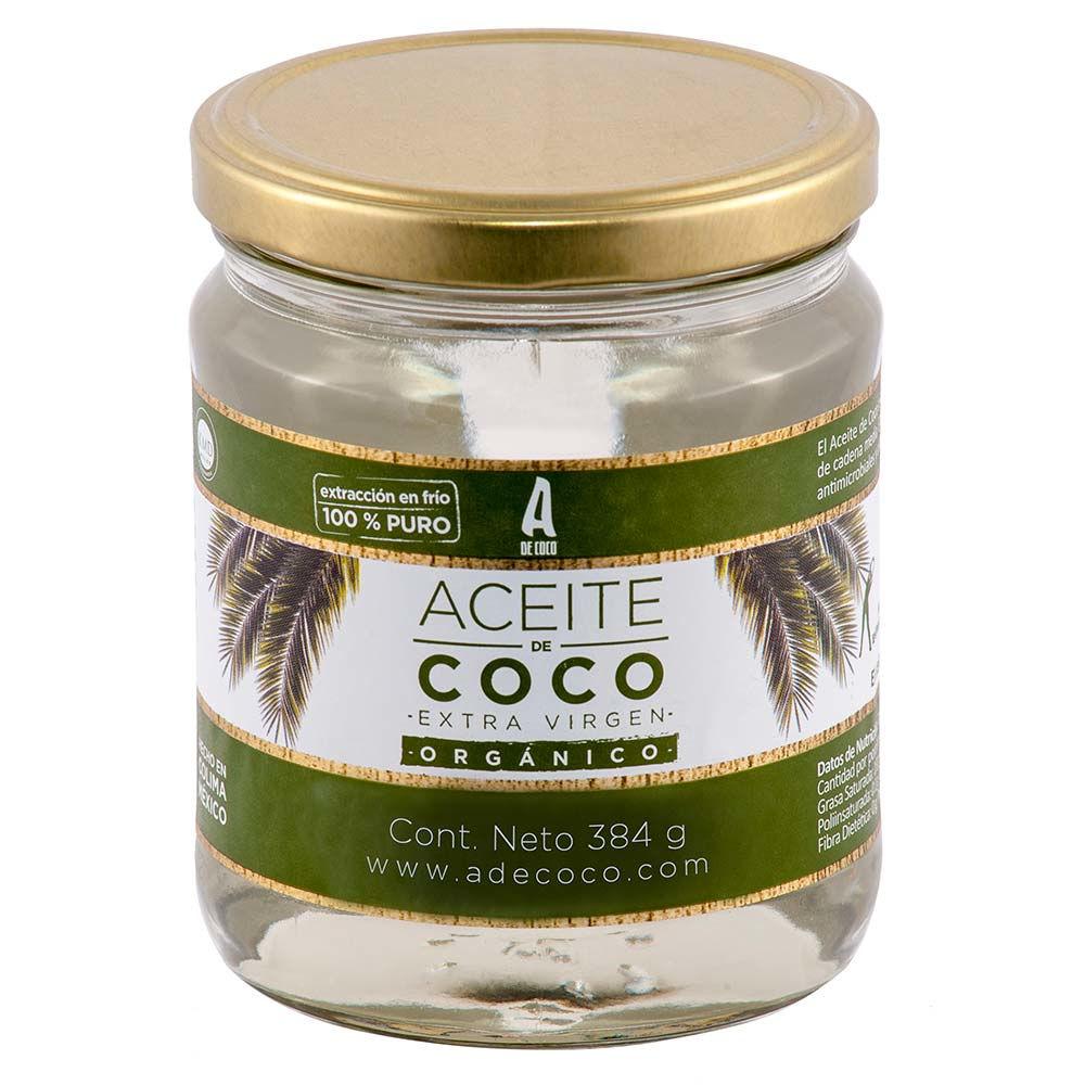 Aceite de Coco Extra Virgen Orgánico 384 g