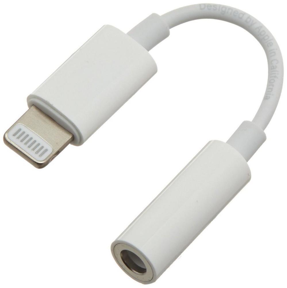 Adaptador lightning iphone a jack 3.5 para audifonos Iphone