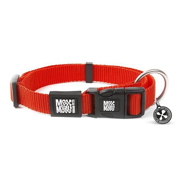 Collar pure red con smart id (L)