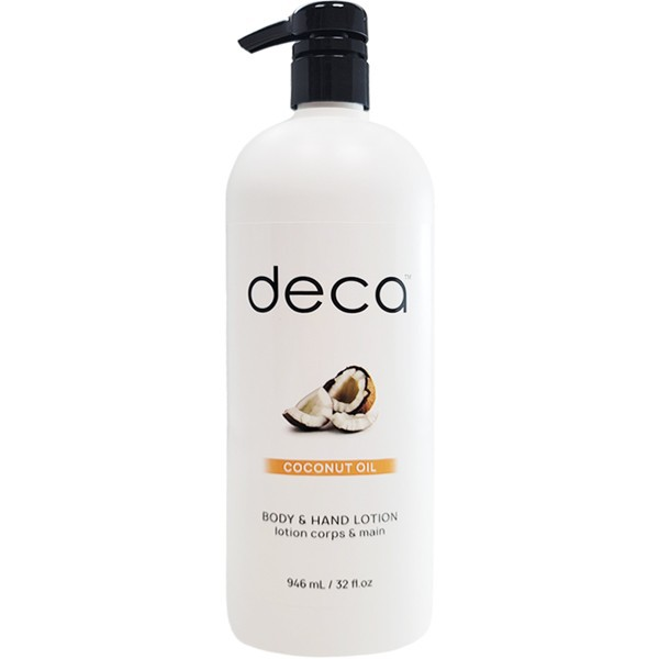 Coconut oil body & hand lotion
