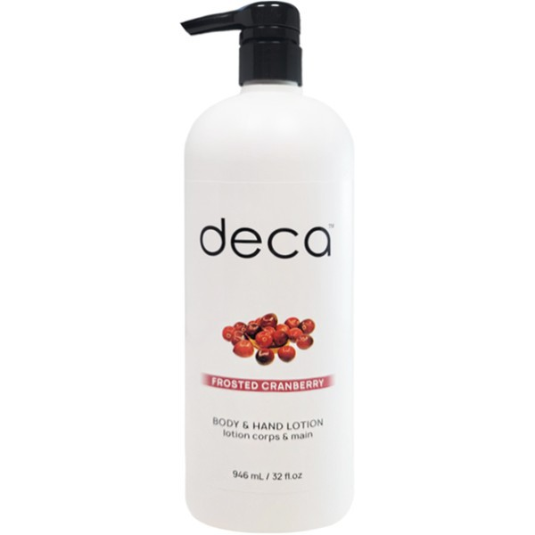 Frosted cranberry body & hand lotion