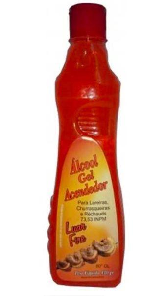 Álcool em gel acendedor 73,53º INPM 400g