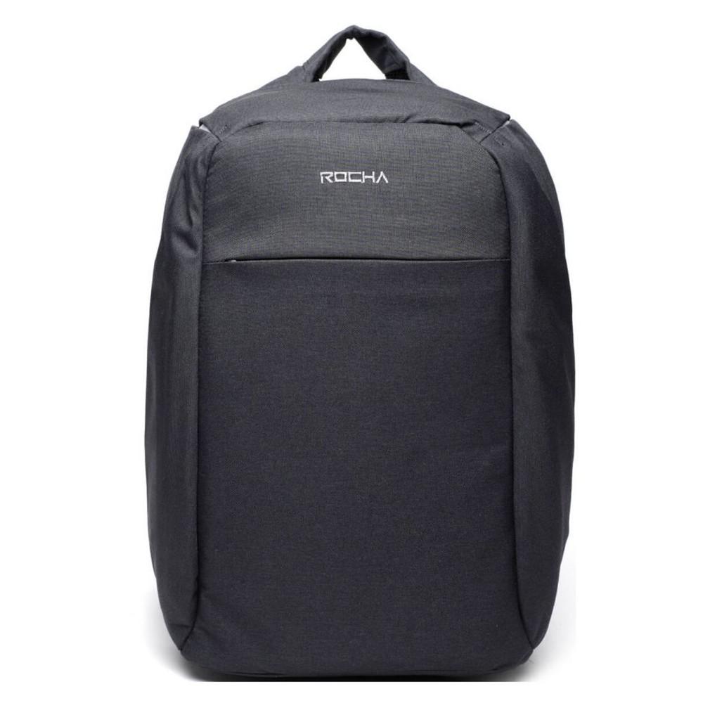 Mochila porta laptop anti robo gris safe 26 L