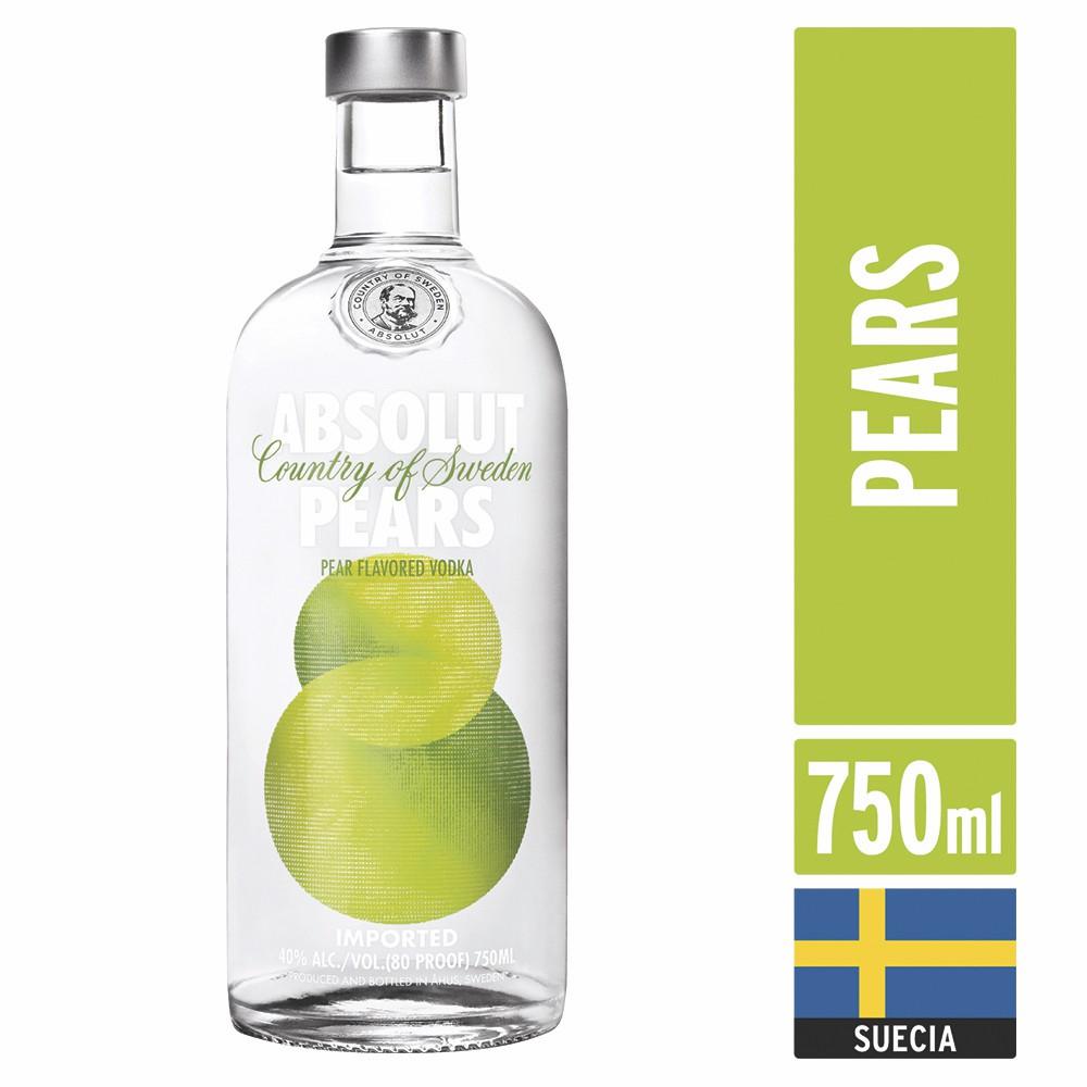 Vodka Pears Botella 750 ml