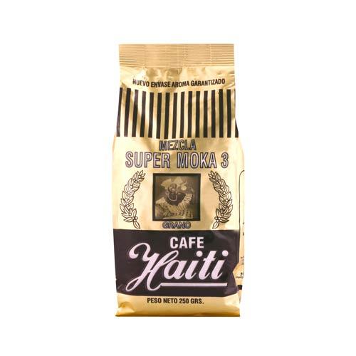 Café en grano mezcla super moka 3 Bolsa 250 g