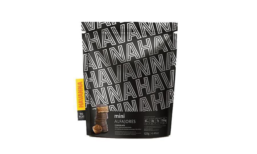 Mini alfajores chocolate 125g 125 gramos