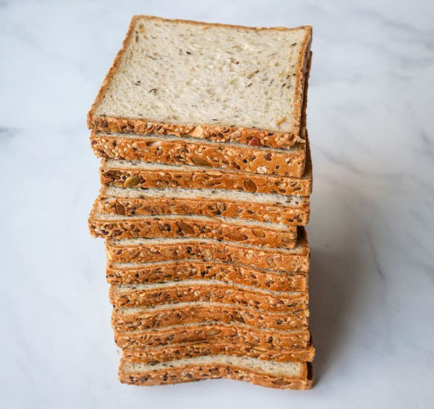 "Toast loaf ""whole grain w/seeds"" 1 Loaf"