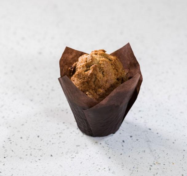 Walnut, carrot & cinnamon muffin 1pc