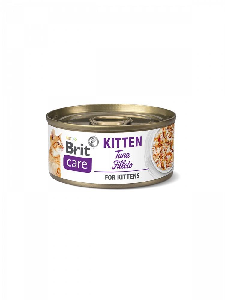 Pate para gatitos filetillos de atún