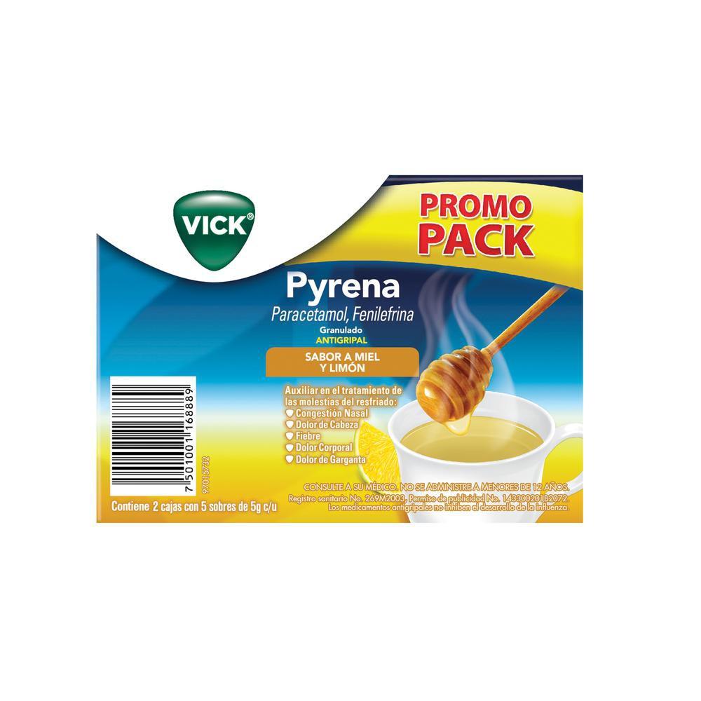 Antigripal Pyrena sabor miel y limón