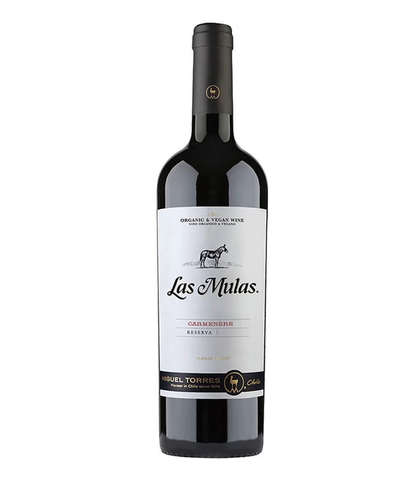 Vino carmenere Las Mulas Botella 750 ml