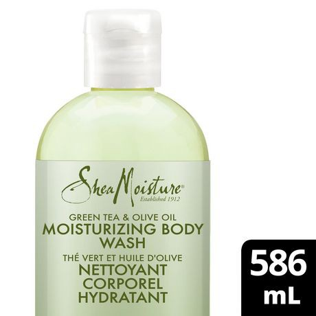 Shea Moisture Green Tea And Olive Oil Body Wash