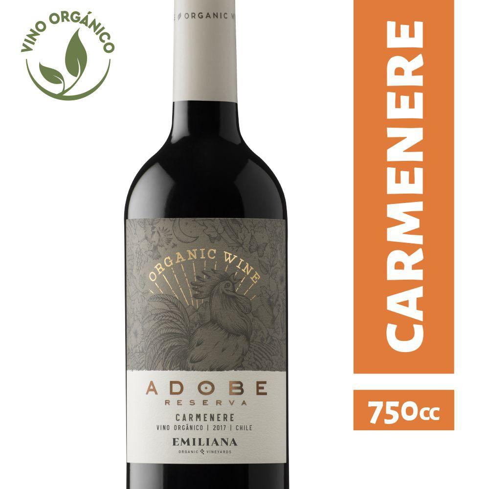 Vino orgánico Carmenere