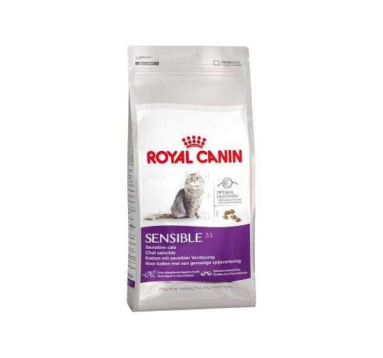 Alimento para gato Sensible 33 1,5 kg