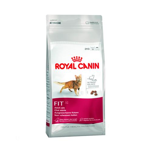 Alimento para gato adulto Fit 32, 7,5 kg