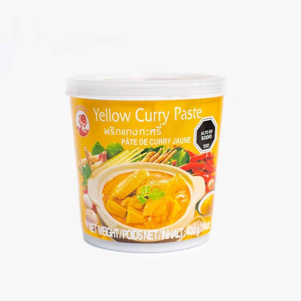 Pasta de curry amarillo Envase de 400g