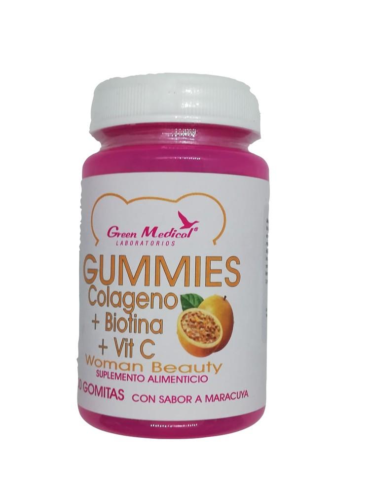 Gummies , gomitas colágeno + biotina