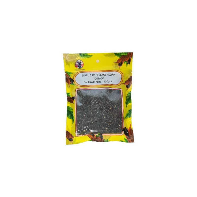 Semilla de sésamo negro Empaque de 100GR