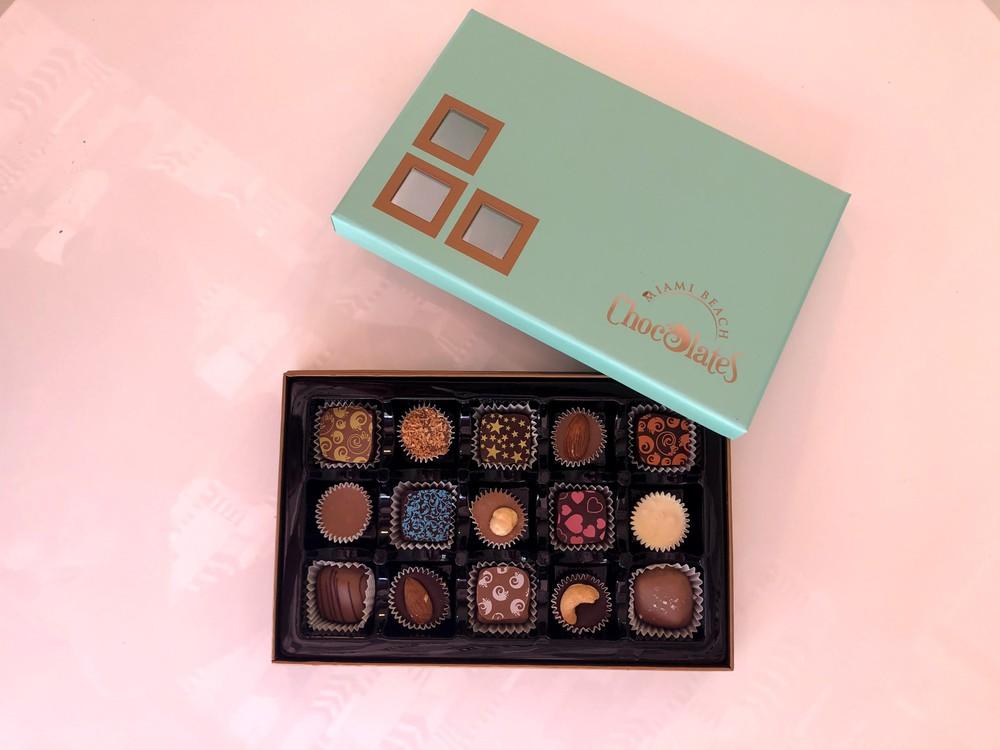 15 piece box - milk chocolate