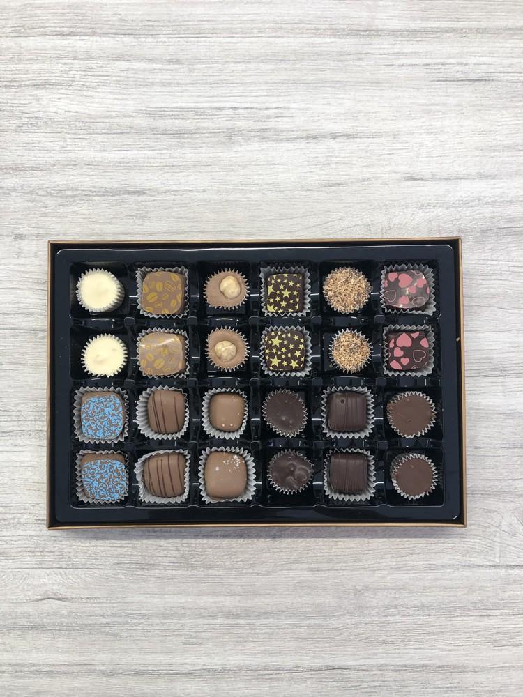 24 piece box - dark chocolate