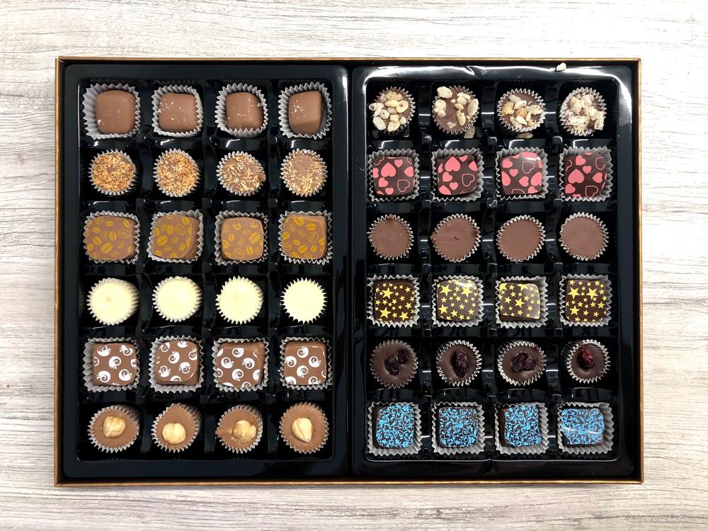 48 piece box - milk chocolate