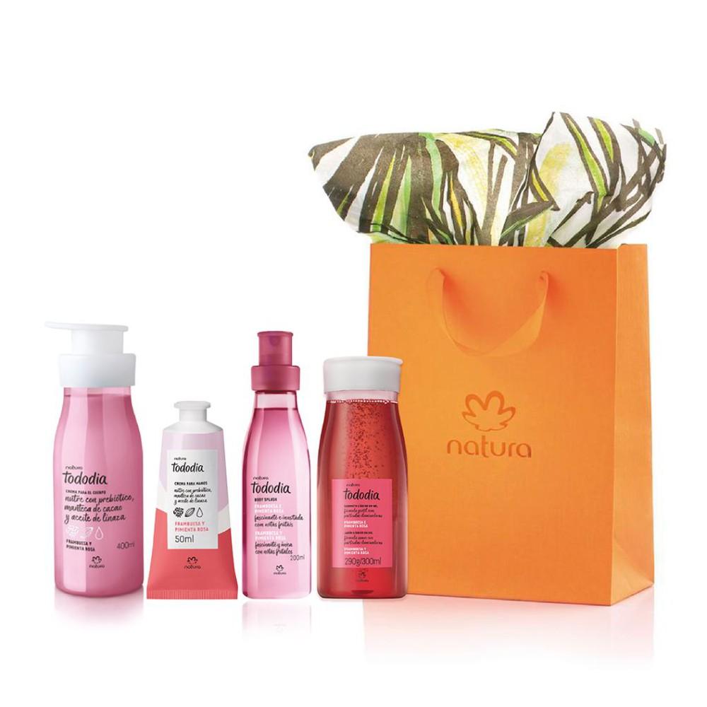 Regalo - Hidratación perfumada Frambuesa y Pimienta Rosa 950ml