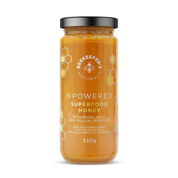 B-powered superfood honey