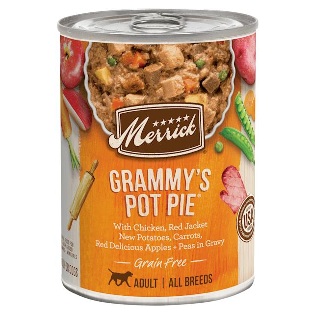 Grammys pot pie dog food