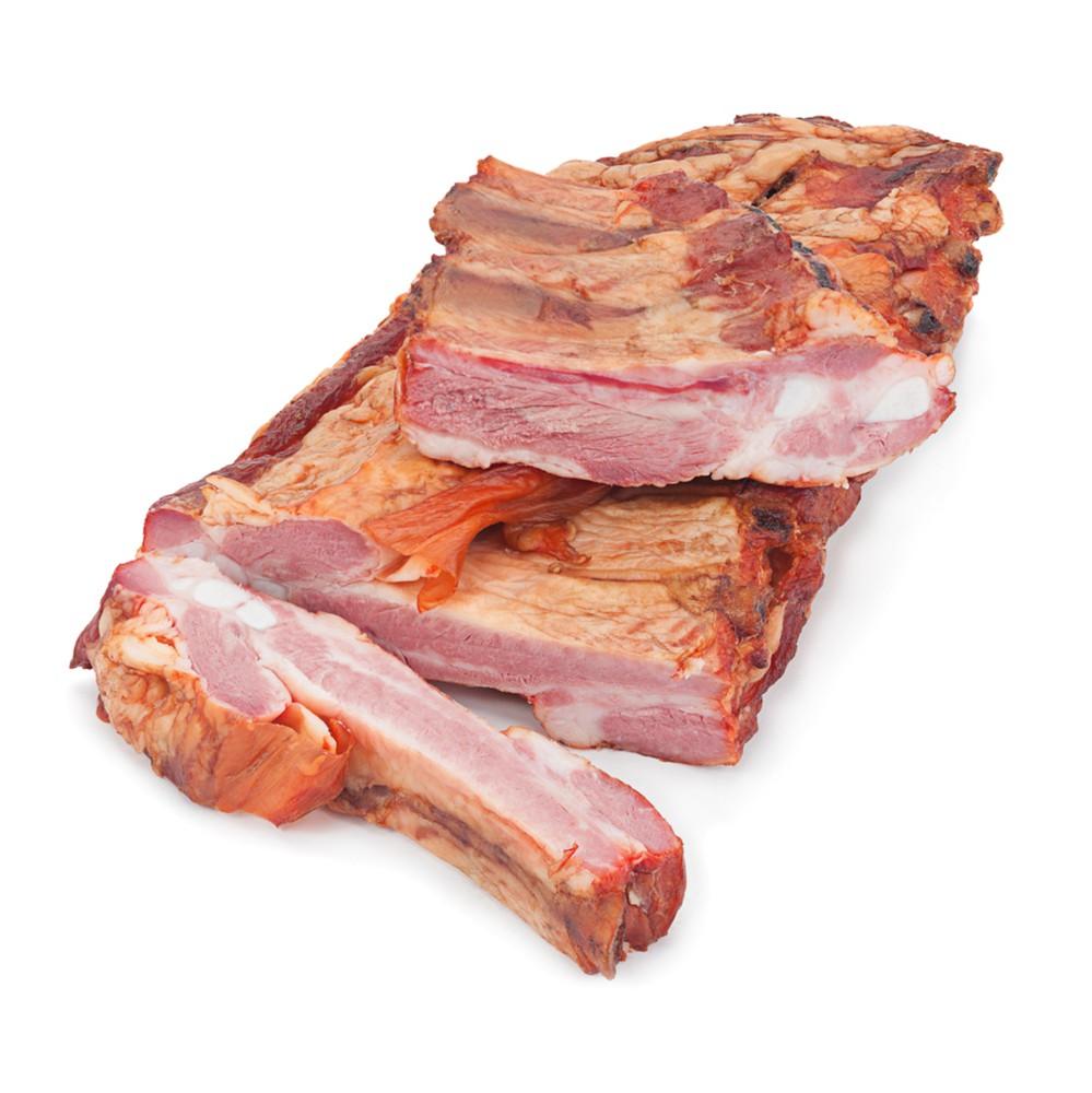 Costillar de cerdo ahumado