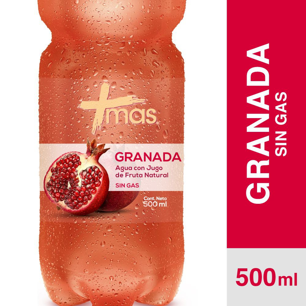 Agua saborizada sin gas granada
