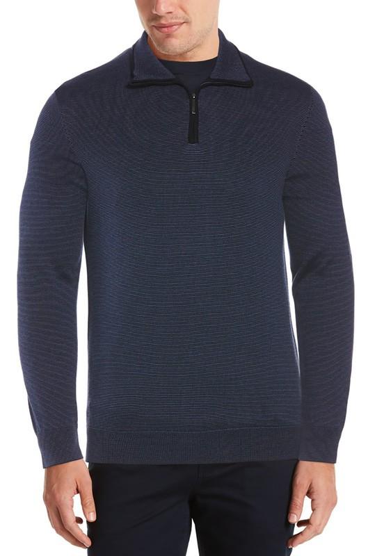 Sweater tejido cierre Talla: XL