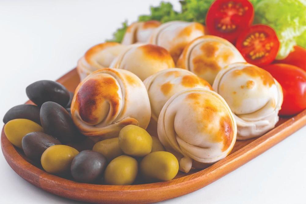 Empanada Horno cóctel Queso Aceituna 10 Unidades