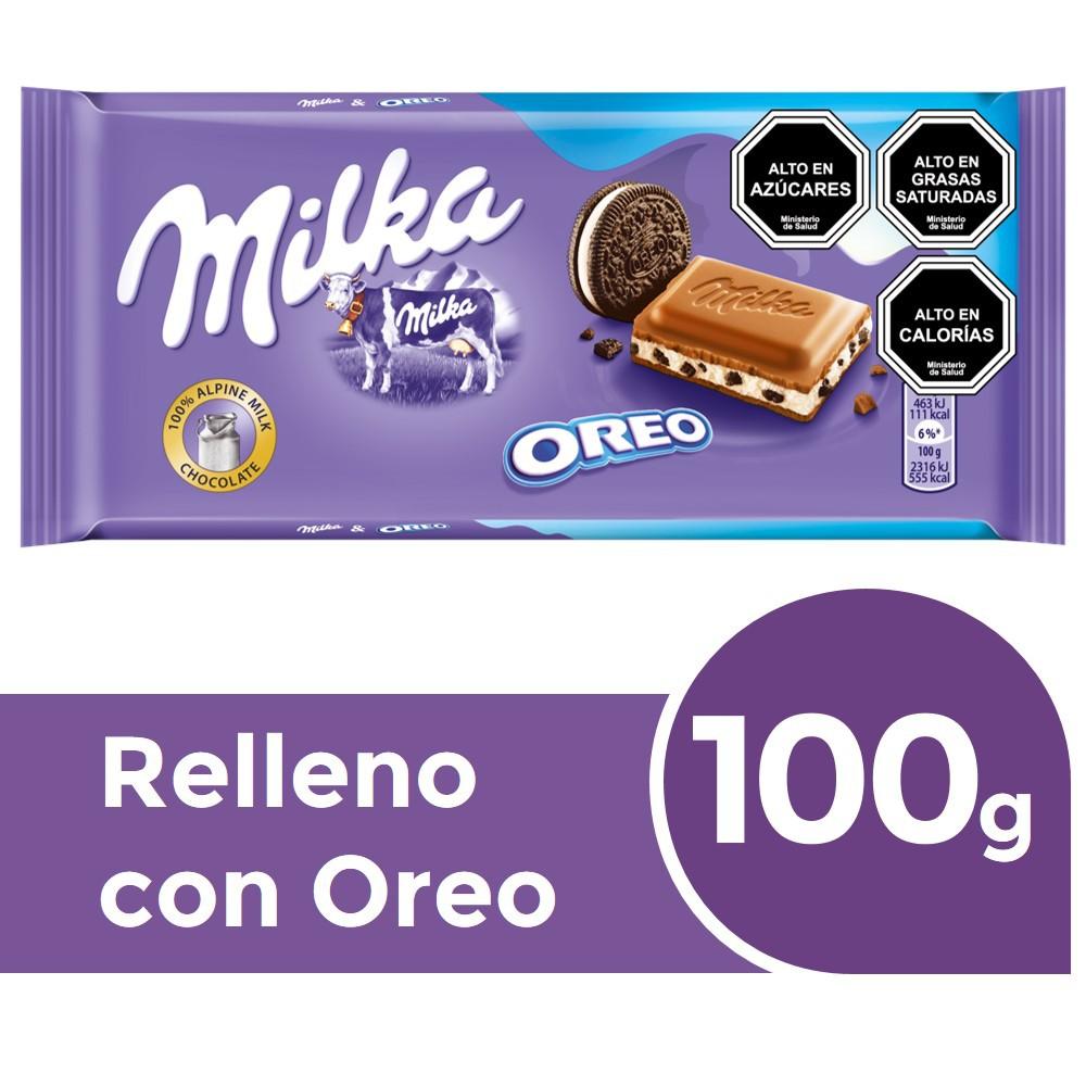 Chocolate de leche relleno con vainilla y trocitos de galleta