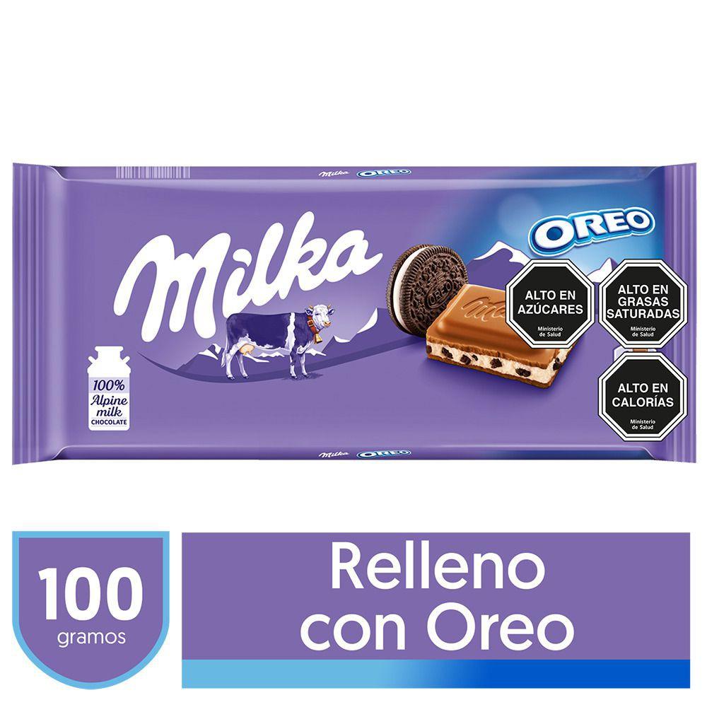 Chocolate de leche con Oreo