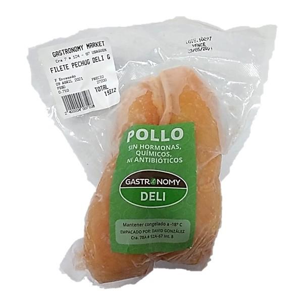 Pollo deli fil pechuga por gr