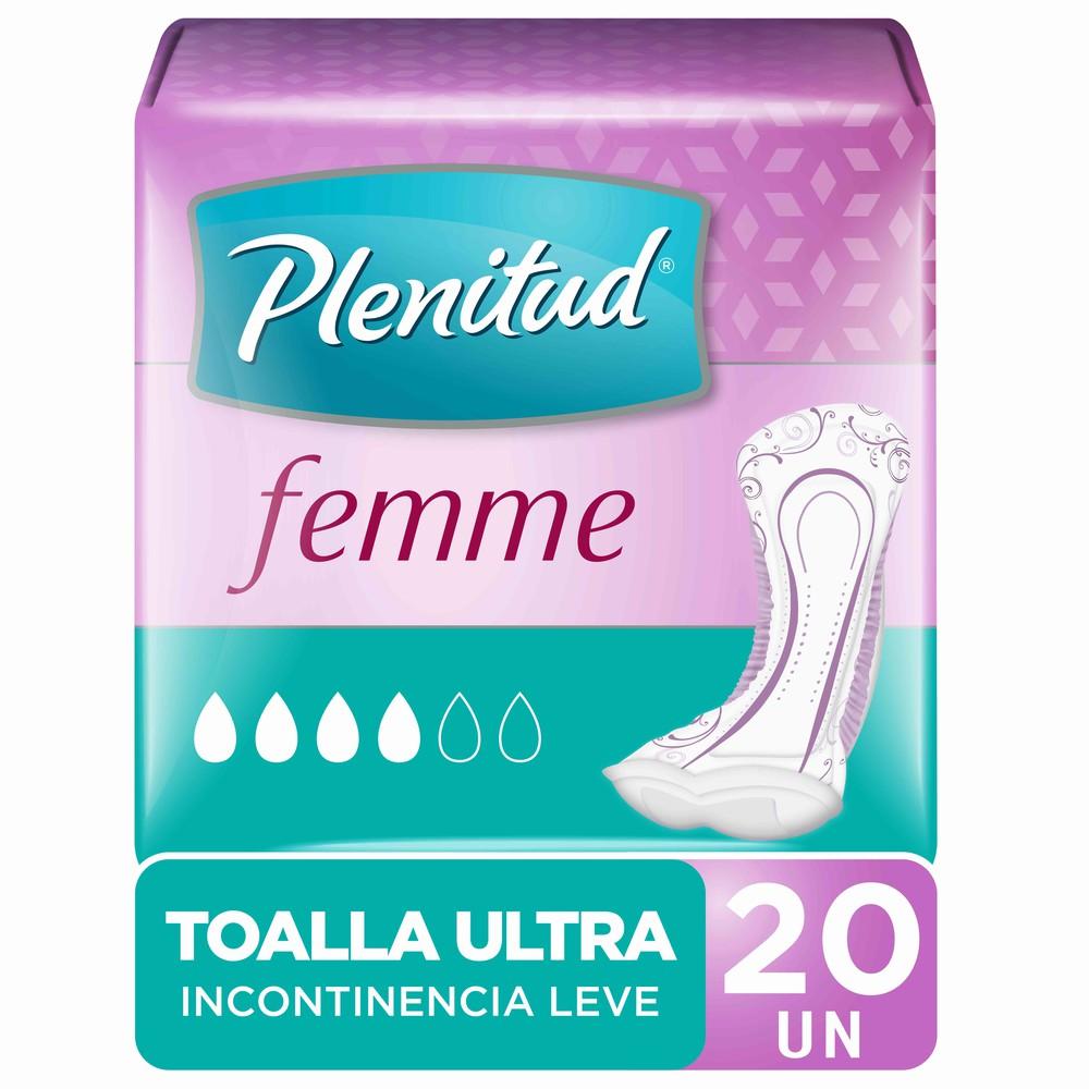 Toalla higiénica ultra incontinencia leve