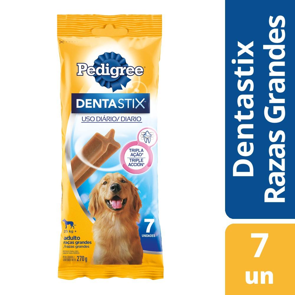 Dentastix cuidado para dientes de perro raza grande