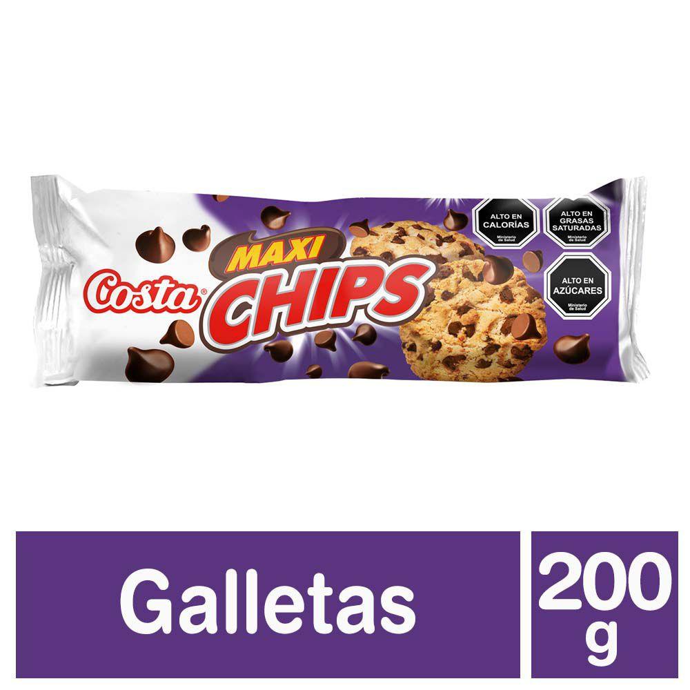 Galletas maxi chips